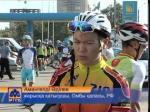 Петропавлда республикалық велокөпкүндіктің жалауы желбіреді