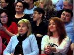 """Актёры Г.Куценко и И.Апексимова представили петропавловцам спектакль """"Скамейка"""""""