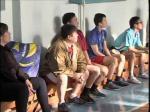 Облыс орталығында мектеп мұғалімдері арасында волейбол жарысы өтті