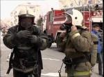 """Спасатели """"тушили"""" пожар в Мадагаскаре"""