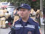 Сотрудники городского управления по ЧС провели необычный флешмоб