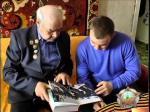 Ветеран ВОв Федор Щеглов делится воспоминаниями