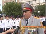 В Петропавловске установили памятник сотрудникам органов внутренних дел