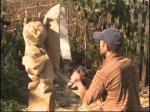Скульптор из Петропавловска занял второе место на международном фестивале зодчества