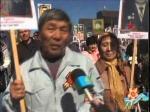 """""""Бессмертный полк"""" прошел по центральной улице Петропавловска 9 мая"""