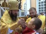 По улицам Петропавловска прошел крестный ход