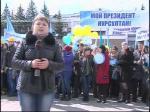 """В Петропавловске в поддержку Н.Назарбаева провели форум """"Победа Президента - гарант стабильности государства"""""""