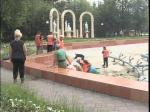 Петропавлда фонтандарды тазалау жұмыстары жүргізілуде