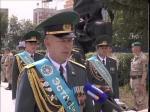 Петропавловск принимал эстафету пограничников