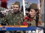 Сегодня в Петропавловске прошла патриотическая акция «Бессмертный полк»