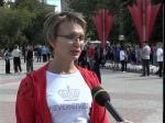 Массовый забег в Петропавловске посвятили Дню спорта