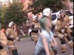 Петропавлда қалалық ТЖ басқармасының қызметкерлері ерекше флешмоб ұйымдастырды